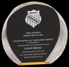 Round Self Standing Acrylic Award Accent Acrylic Awards