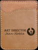 Light Brown Leatherette Phone Wallet Cell Phone Covers & Holders