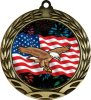 Colorful Eagle Insert Medal Eagle Medals
