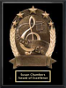 Super Star Music Plaque Music Trophies