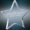 Crystal Star Paperweight Paperweights