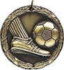 Wreath Soccer Kick Medal Soccer Trophies