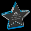 Blue Star Performance Acrylic Star Acrylic Awards