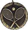 Wreath Tennis Medal Tennis Trophies