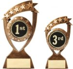 Mylar Holder,  Resin 1st-3rd Place Trophies