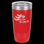Red Stainless Steel Ringneck Double Wall Insulated Tumbler 20 oz Not Yeti Cups