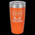 Orange Stainless Steel Ringneck Double Wall Insulated Travel Mug 20 oz Not Yeti Cups