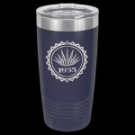 Navy Blue Stainless Steel Ringneck Double Wall Insulated Travel Mug 20 oz Not Yeti Cups