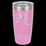 Light Purple Stainless Steel Ringneck Double Wall Insulated Tumbler 20 oz Not Yeti Cups