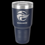 Navy Blue Stainless Steel Ringneck Double Wall Insulated Travel Mug 30 oz Not Yeti Cups