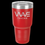 Red Stainless Steel Ringneck Double Wall Insulated Travel Mug 30 oz Not Yeti Cups