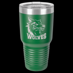 Green Stainless Steel Ringneck Double Wall Insulated Travel Mug 30 oz Not Yeti Cups