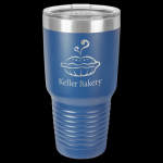 Royal Blue Ringneck Double Wall Insulated Travel Mug 30 oz Not Yeti Cups