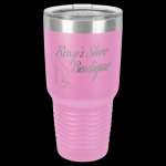 Light Purple Stainless Steel Ringneck Double Wall Insulated Tumbler 30 oz Not Yeti Cups