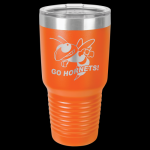 Orange Stainless Steel Ringneck Double Wall Insulated Travel Mug 30 oz Not Yeti Cups