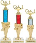 First - Third Place Academic Trophies 2 Academic Awards