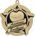 Super Star Academic Excellence Medal Academic Medals
