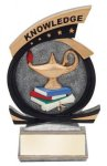 Gold Star Knowledge Award Academic Trophies