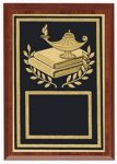Lamp Of Knowledge Plaque Academic Trophies
