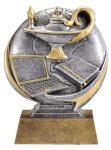 Education 3D Motion Trophy Academic Trophies