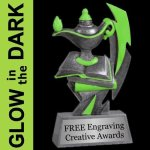 GLOW in the DARK Academic Trophy Academic Trophies