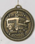Value I'm Cool In School Medal Academic Trophies