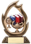 Flame Series Knowledge Academic Trophies