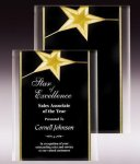 Gold Star Acrylic Plaque Acrylic Award Plaques