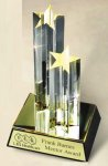 Star Acrylic Award Double Tower Acrylic Award Trophies