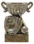 Sport Cup Baseball Antique Gold All Trophy Awards