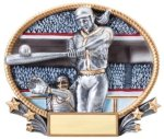 Softball 3D Oval Trophy All Trophy Awards