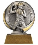 Softball 3D Motion Trophy (Female) All Trophy Awards