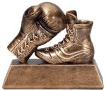 Bronze Resin Boxing Trophy All Trophy Awards