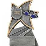 Swimming Jazz Star Resin All Trophy Awards
