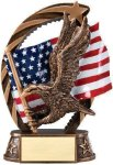 Bronze and Gold Eagle Award All Trophy Awards