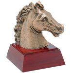 Horse Resin All Trophy Awards