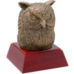 Owl Resin All Trophy Awards
