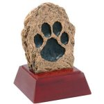Paw Print Resin All Trophy Awards