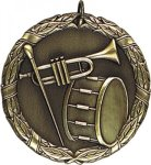 Wreath Band Medal Band Medals