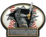 Burst Thru Baseball Trophy Baseball Trophies