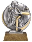 T-Ball 3D Motion Trophy (Female) Baseball Trophies