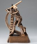 Ultra Action Baseball Trophy Baseball Trophies
