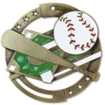 Color Baseball Medal Baseball Trophies