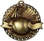 Burst Thru Baseball Medal Baseball Trophies