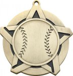 Super Star Baseball Medal Baseball Trophies