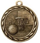 Scholastic Basketball Medal Basketball Medals