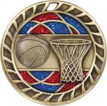 Glitter Basketball Medal Basketball Medals