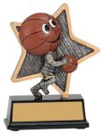 Basketball Little Pals Resin Trophy Basketball Trophies