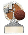 Basketball Multi Color Sport Resin Figure Basketball Trophies