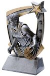 3D Star Basketball Award (Male) Basketball Trophies